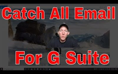 Setup G Suite Catch All Email