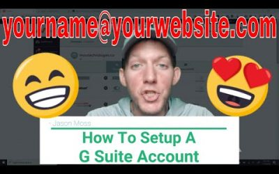 How To Setup G Suite Account For Business E-Mail | Step-by-Step Tutorial