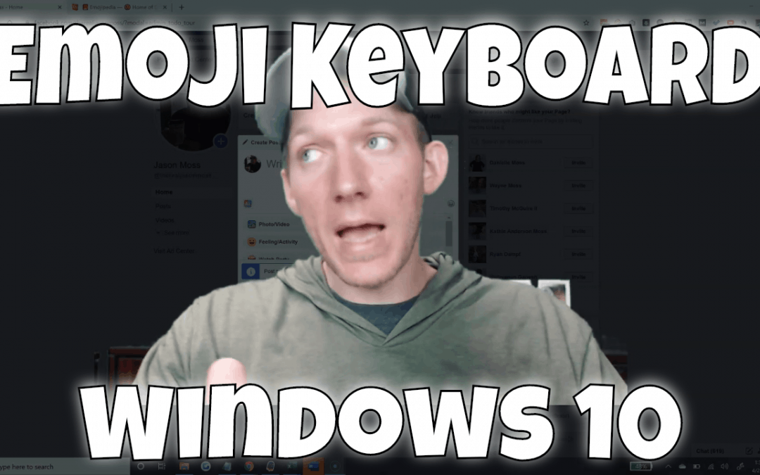 How To Use Emoji Keyboard On Windows 10 | NO Download Needed