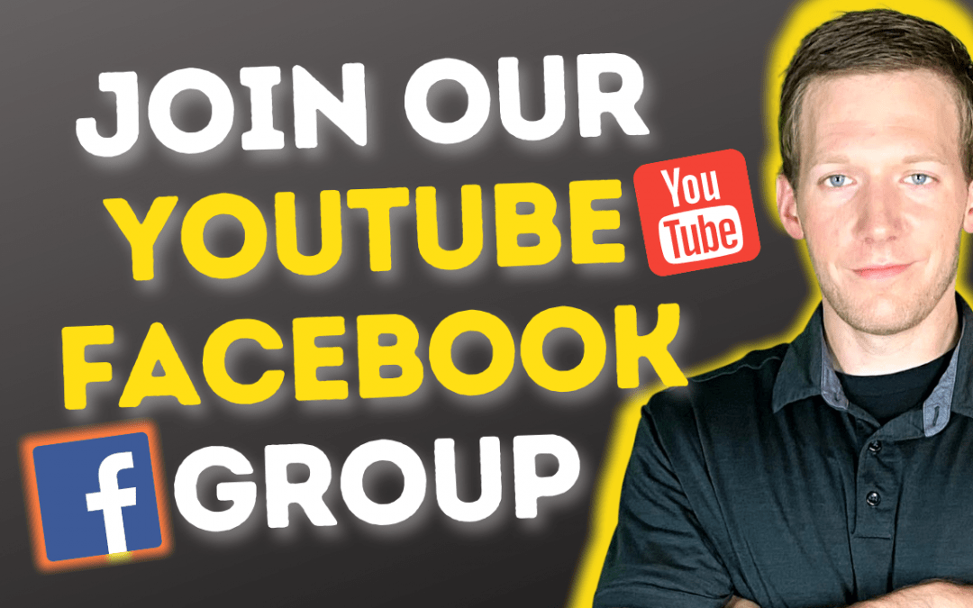Facebook Group For Youtubers!
