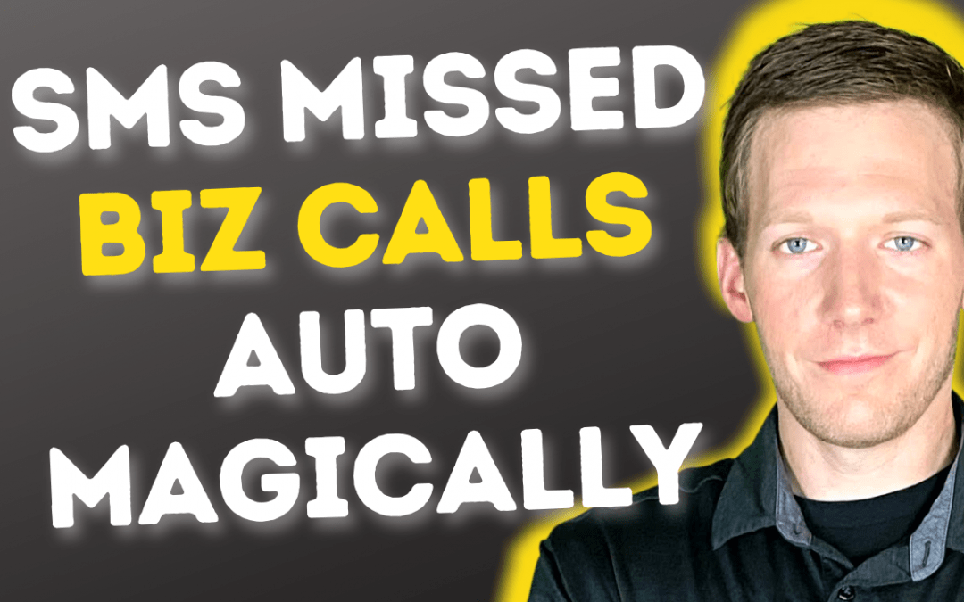 Miss A Biz Call? Automatically Send SMS Reply With GoHighLevel