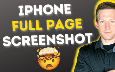 How To Take iPhone Full Page Screenshots